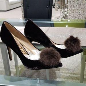 SAM EDELMAN brown heels,  size 10 new